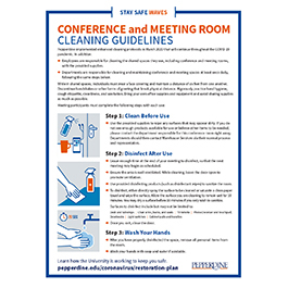 Conference Room Cleaning Guidelines
