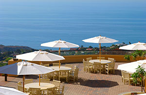 Gull's Way Patio - Pepperdine University