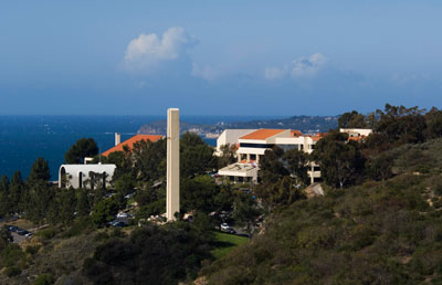 Malibu campus with Theme Tower - Pepperdine University