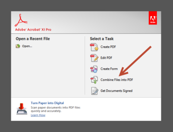 How To Combine Pdf Files Into One