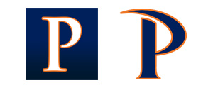 Pepperdine letterforms