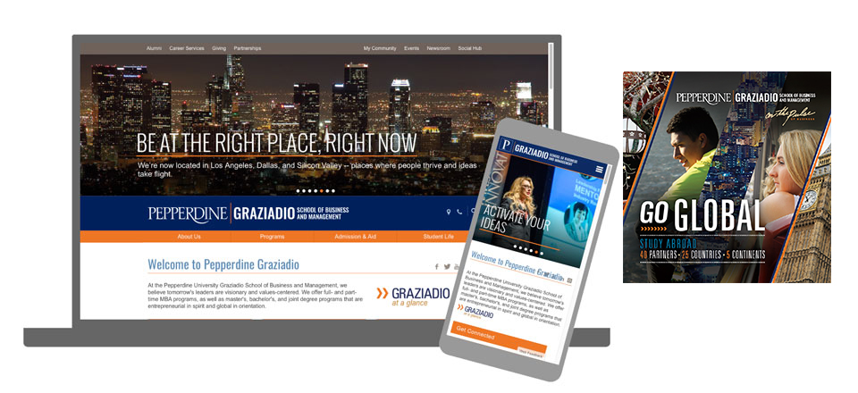 Updated Pepperdine | Graziadio signature