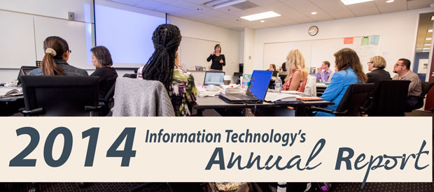 2014 Information Technology Annual Report