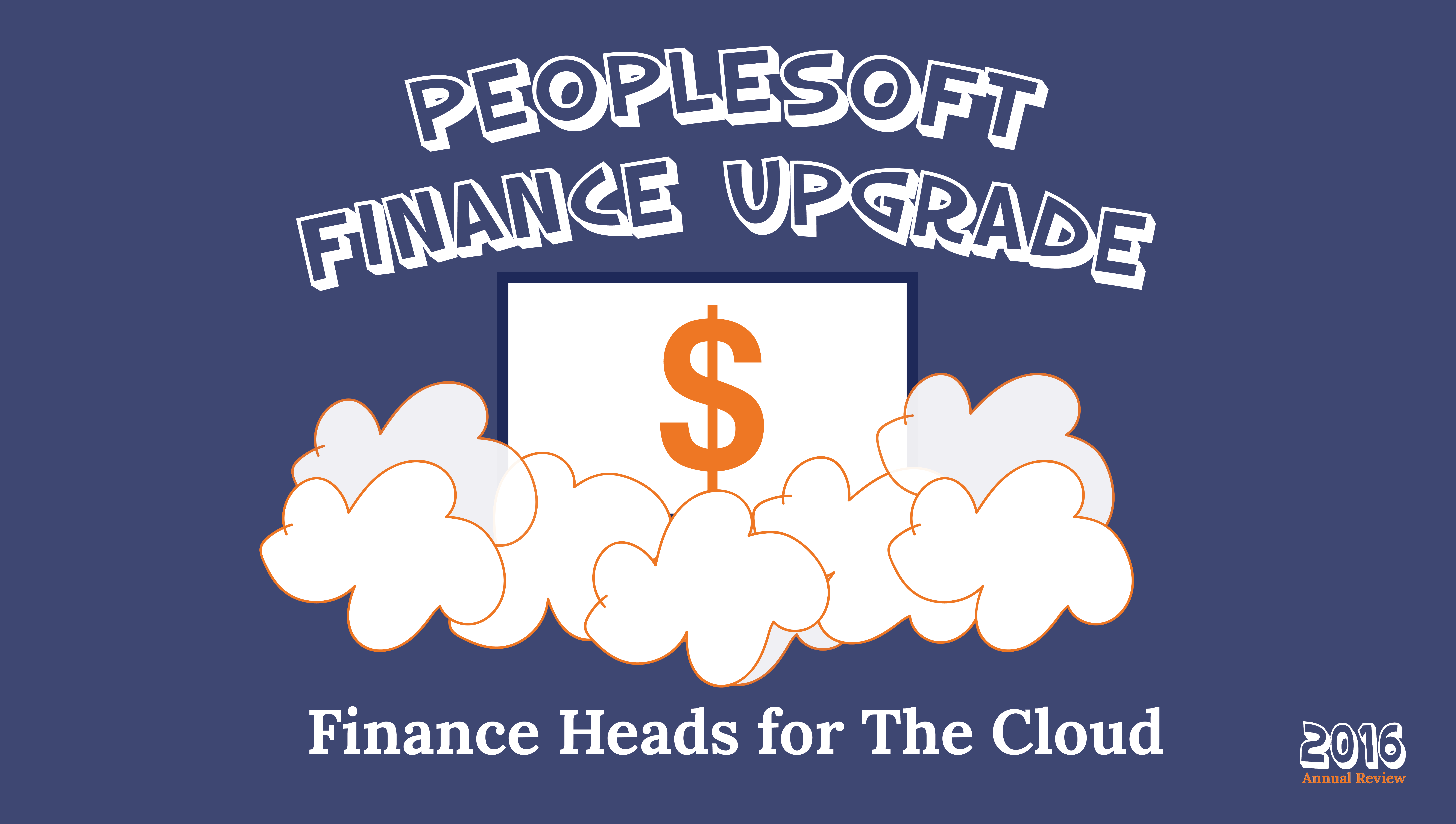 PeopleSoft Finance Upgrade
