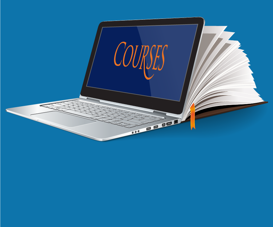 Courses laptop icon