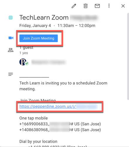 Join a meeting button and link buttons