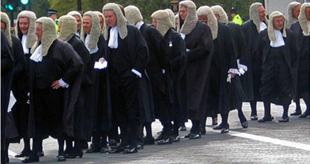 Barristers in London