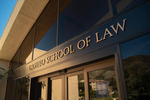 Caruso School of Law building