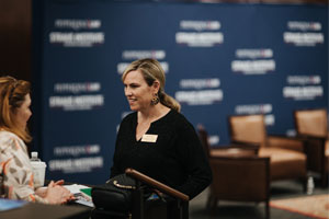 Assistant Director of Marketing Kim Prince at Caruso Law