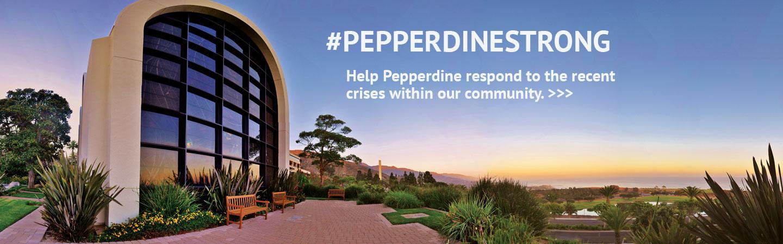 #PepperdineStrong