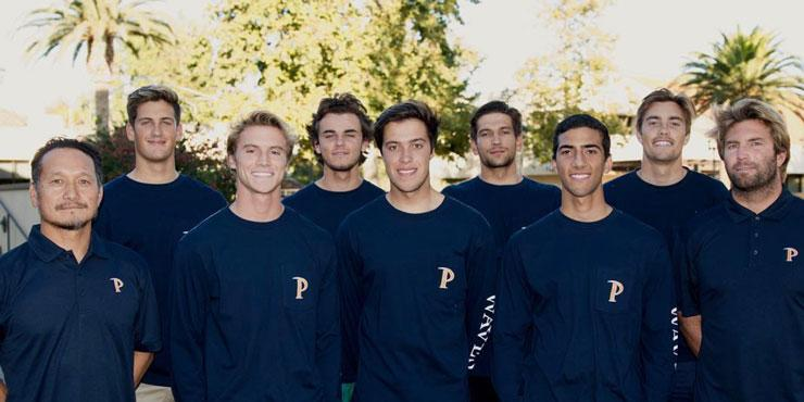 Pepperdine surf team group photo