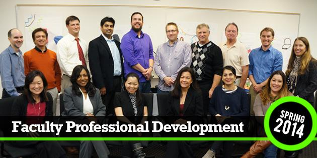 Faculty Professional Development Spring 2014