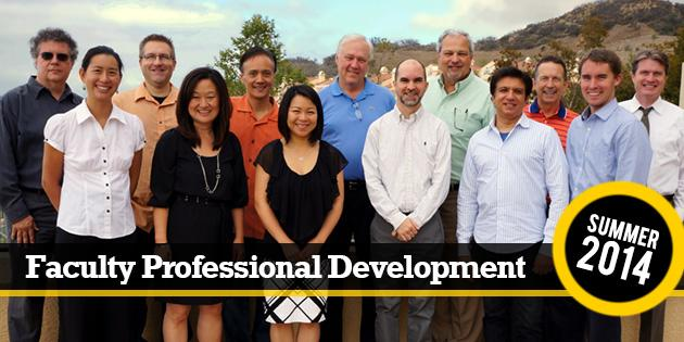 Faculty Professional Development Summer 2014