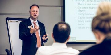 Craig Everett teaching