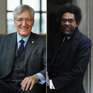 "The President's Speaker Series will launch on January 12, 2021, with ""Honesty and Courage, Humility and Hope: Robert George and Cornel West in Dialogue,"" at 5 PM PST via Zoom."