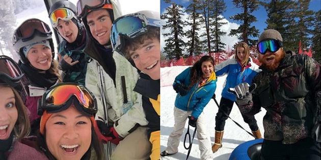 gondola and sledding