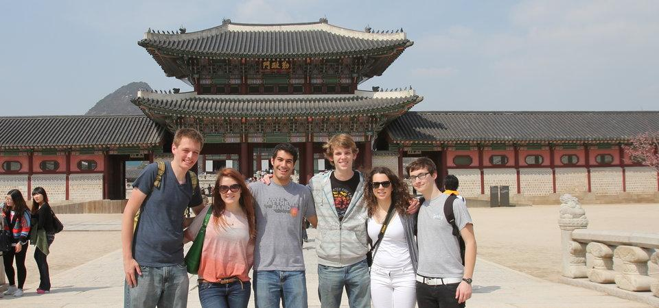Pepperdine students in Shanghai, China