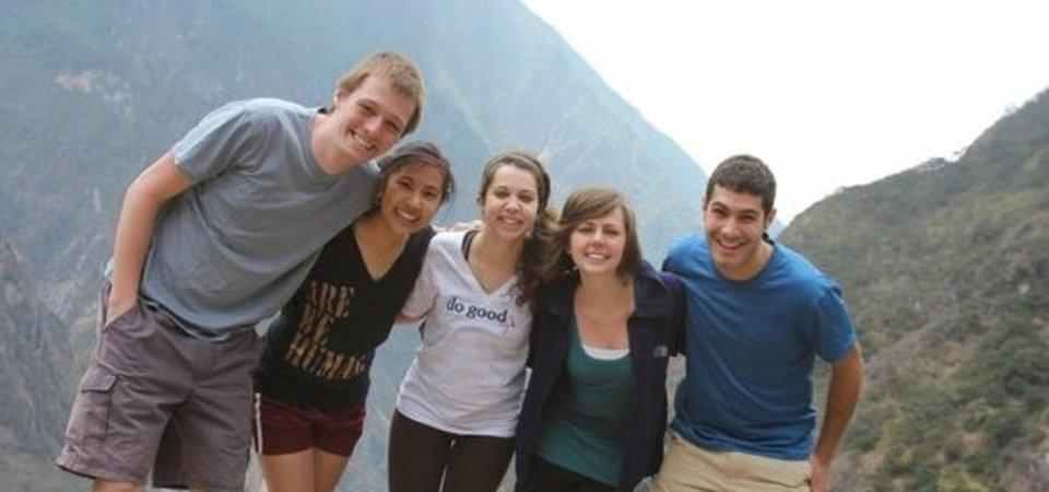 Pepperdine students in China