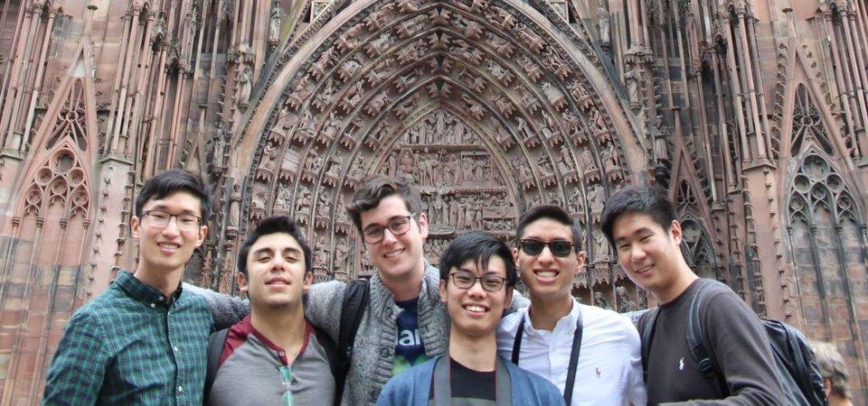 Pepperdine students in Heidelberg, Germany