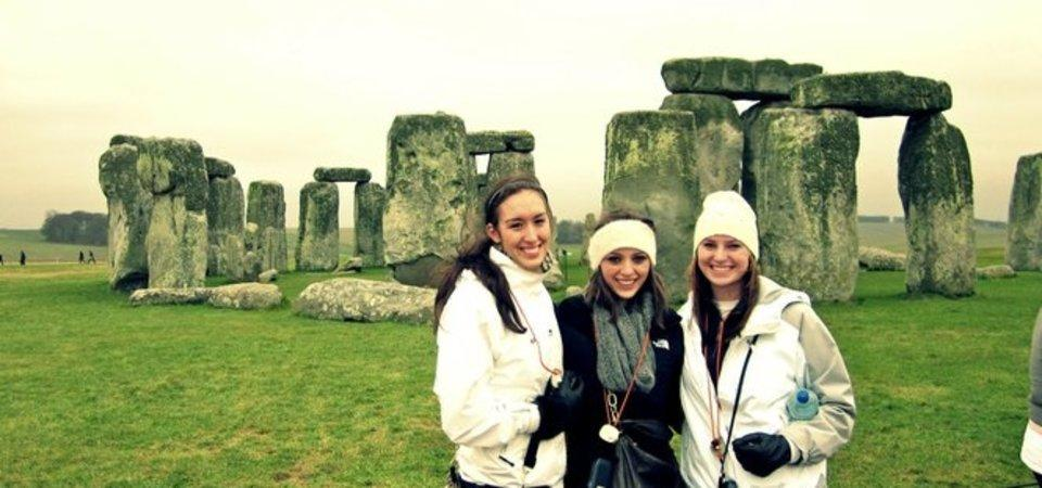 Pepperdine students at Stonehenge