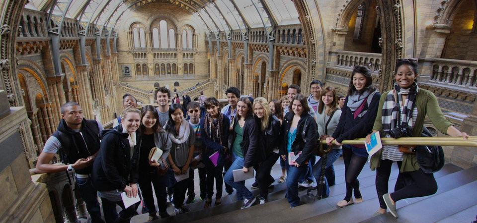 Pepperdine students in London