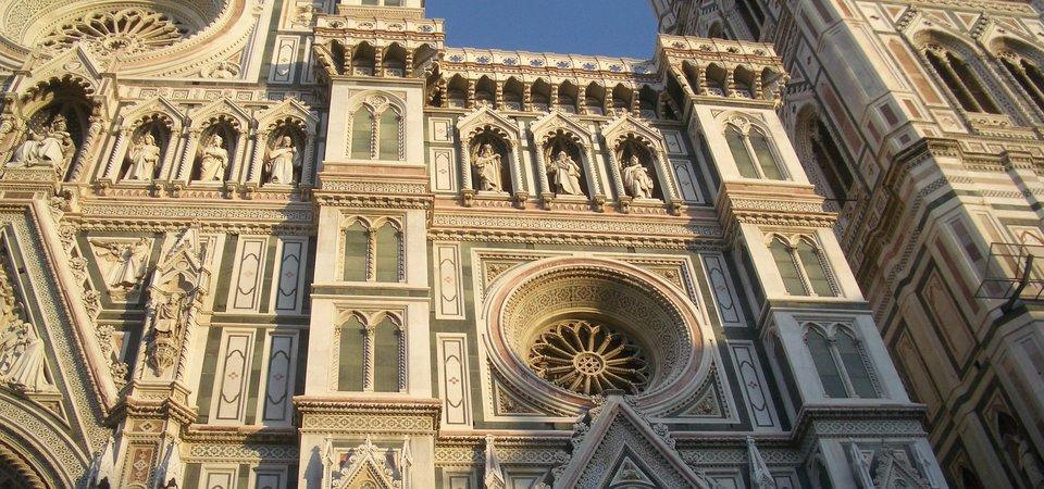 Duomo closeup in Florence, Italy