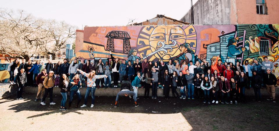 Pepperdine students in Buenos Aires