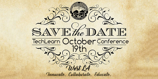save the date and logo