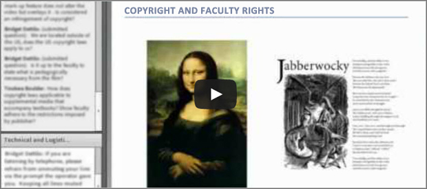 Copyright and Faculty Rights Image