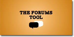 The Forums Tool