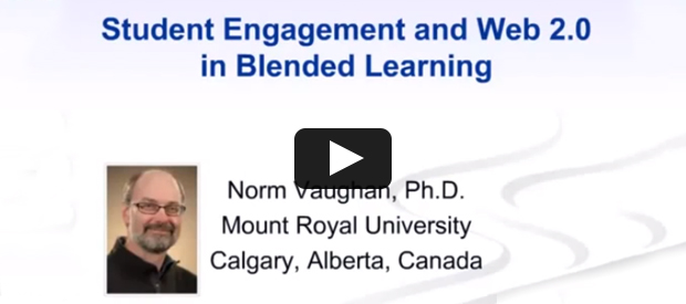 Student Engagement and Web 2.0 in Blended Learning